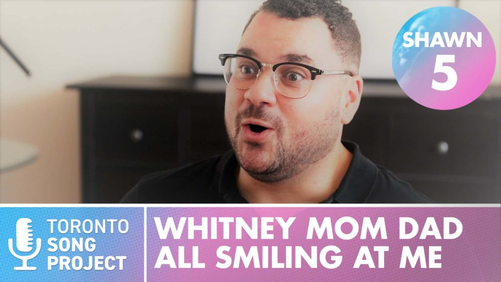 WHITNEY, MOM, DAD, Smiling at Me