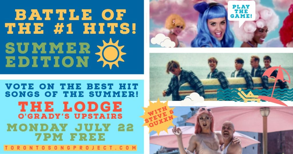 Battle of the #1 Hits – Summer Edition